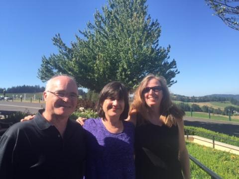 Tom Keating, Ann Glang, and Shari Wade